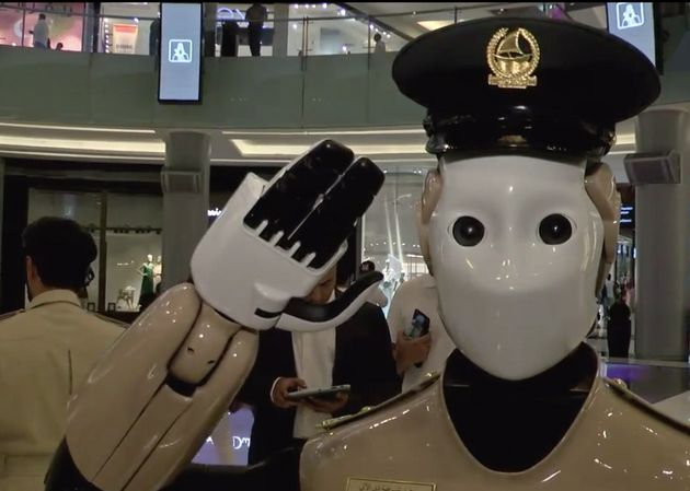 This Real-Life RoboCop Is On The Case At A Dubai Shopping
