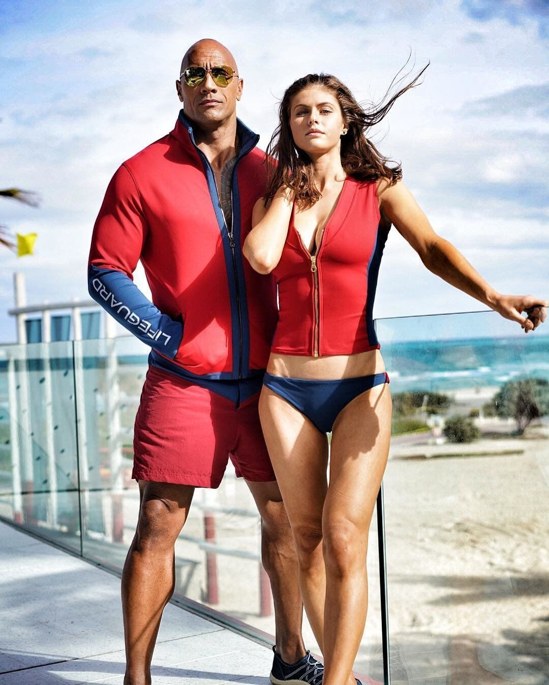 'Baywatch' Stars Alexandra Daddario And Jon Bass Are Proud The Movie 'Flips The