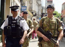 May Troop Deployment Underlines Tory Police Cuts