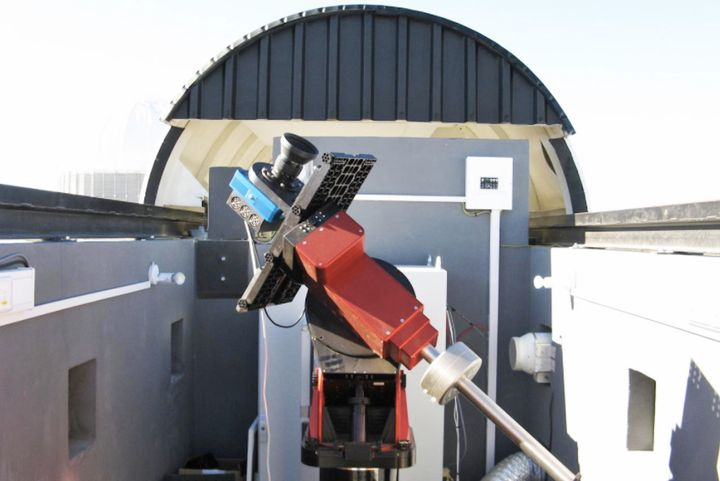 The KELT-South robotic telescope in South Africa that made the discovery of KELT-11b.