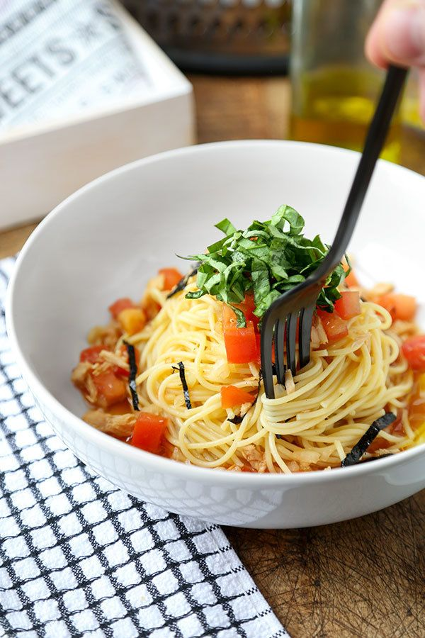 """<a rel=""""nofollow"""" href=""""http://www.pickledplum.com/japanese-chilled-tomato-tuna-spaghetti/"""" target=""""_blank"""">Japanese Chilled"""