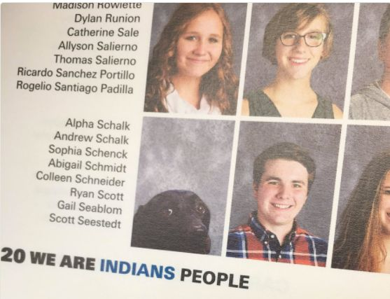 Alpha in the yearbook.