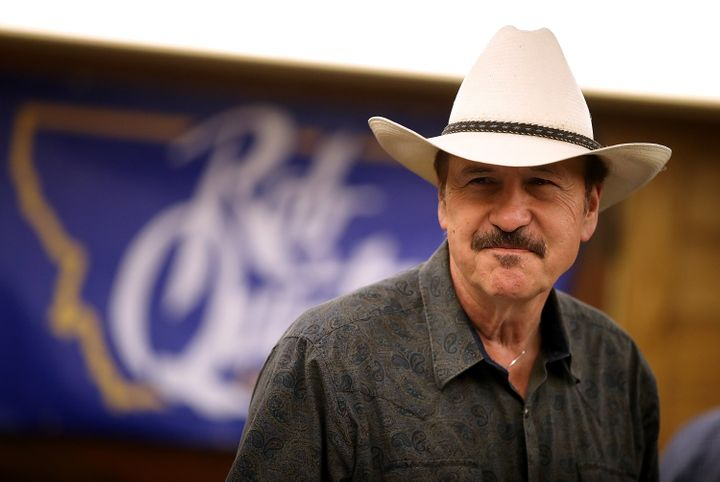 Montana Democrat Rob Quist speaks to supporters earlier this week in Great Falls. His hard-fought House campaign fell short o