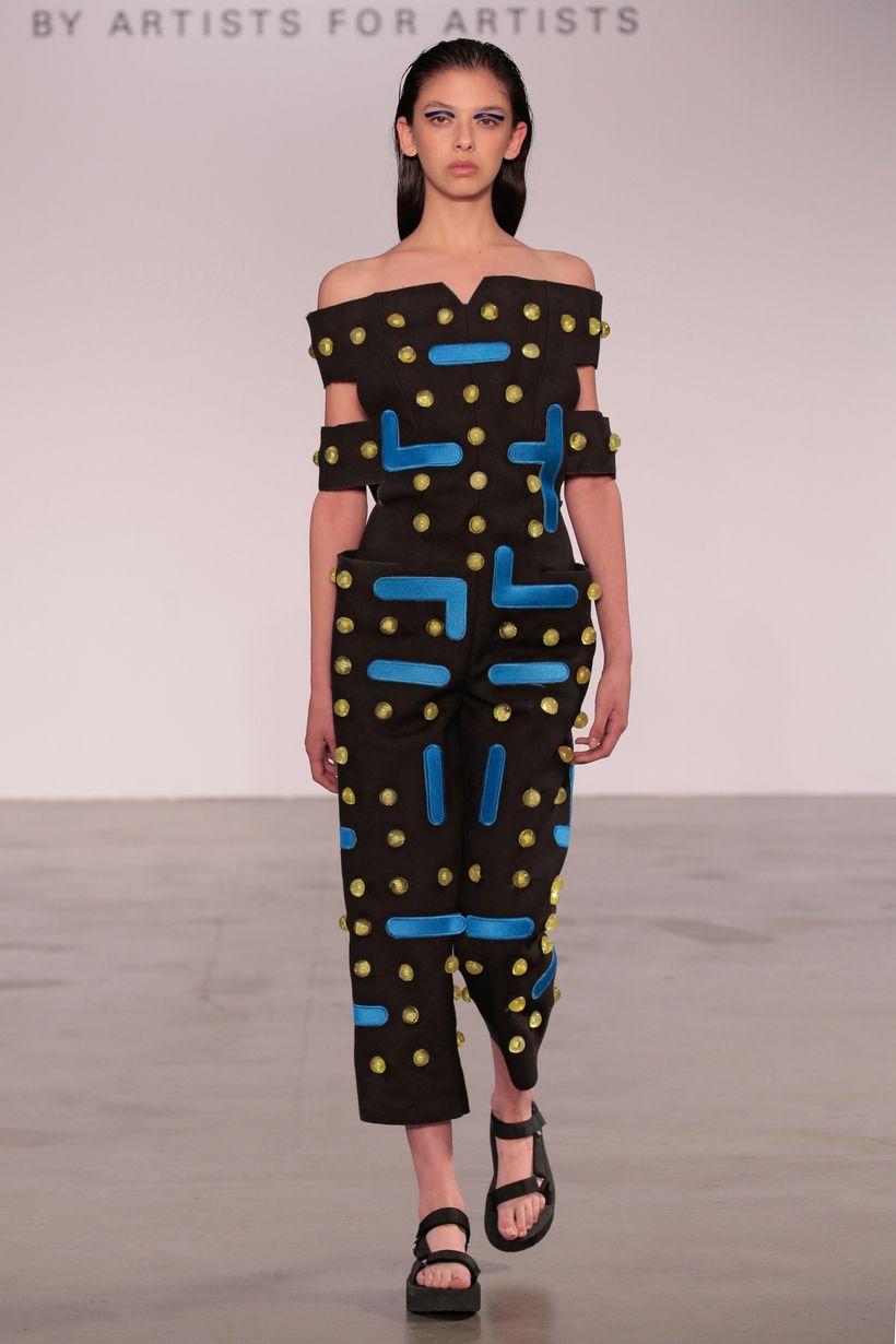 Jeanne Marie Sanguinetti (BFA Fashion Design) and Ryan Hsiang (BFA Jewelry & Metal Arts)