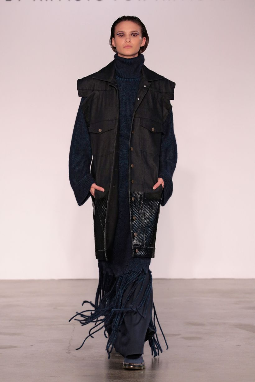 Amanda Velasquez (BFA Fashion Design) and Shanice Ashley Green (BFA Knitwear Design)