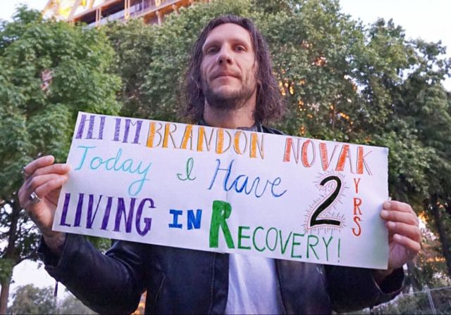 "<p>Say it loud, say it proud! Today, <a rel=""nofollow"" href=""https://www.facebook.com/brandonovak/"" target=""_blank"">Brandon Novak</a> celebrated two years clean and sober.</p>"