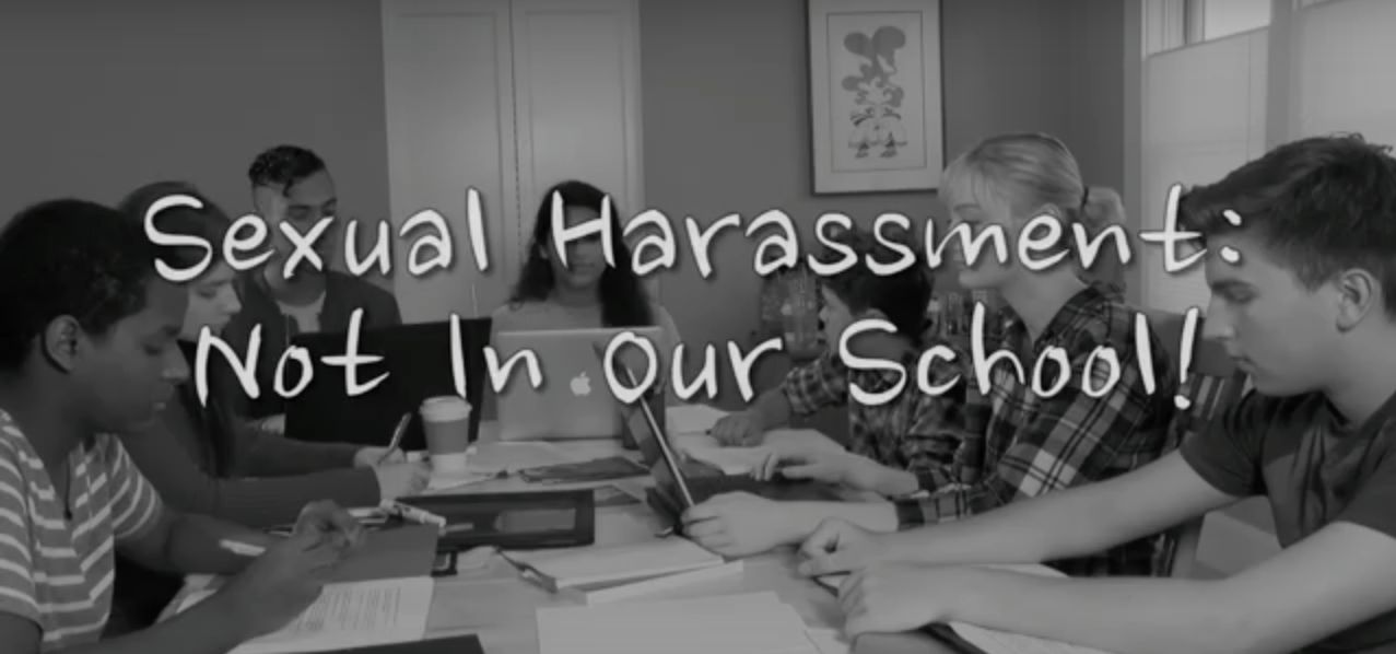 Real sexually harassed video