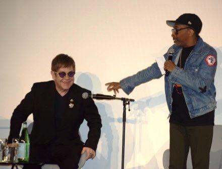 <em>Elton John and Spike Lee</em>