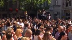 Minute's Silence For Manchester Bombing Victims Ends With Oasis