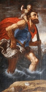 St. Christopher, patron of travellers