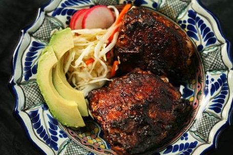 "<strong>Get the <a href=""http://www.simplyrecipes.com/recipes/red_chile_marinated_grilled_chicken/"" target=""_blank"">Red Chile"