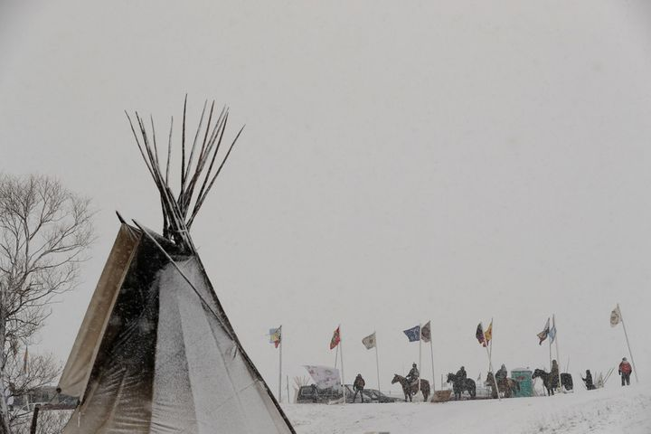 Environmental destruction is a negative externality to be isolated and managed. Here, Native Americans at Standing Rock defe