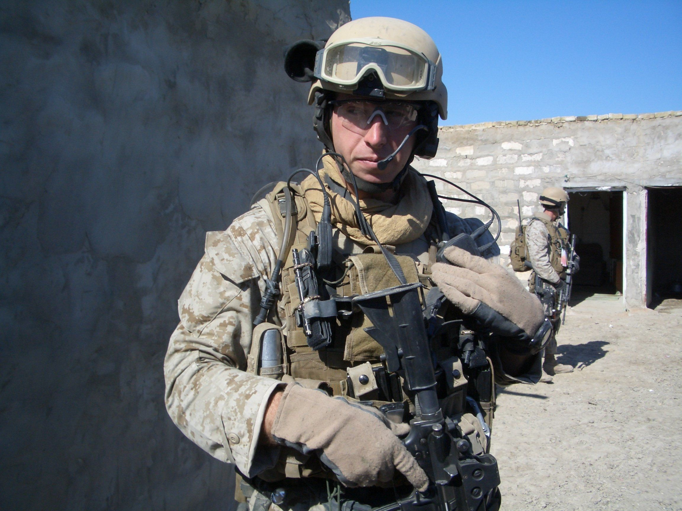 Jake Harriman began developing his ideas on what defeats extremists and what doesn't during four combat tours in Iraq an