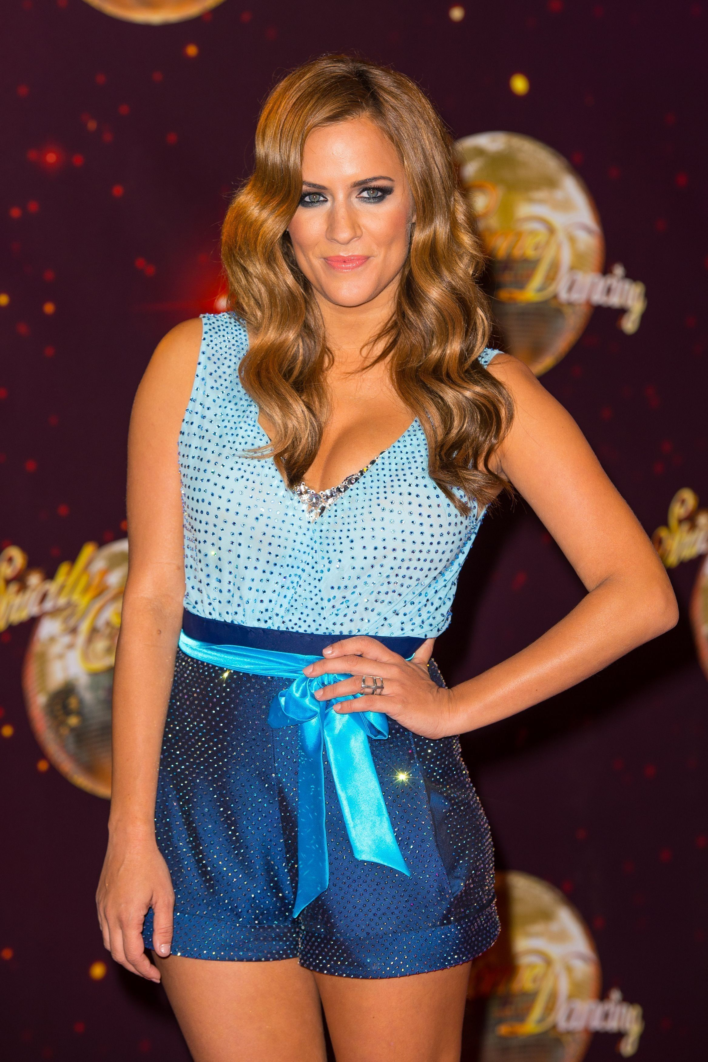 Caroline Flack Has Got A Theory About The 'Strictly Come Dancing'