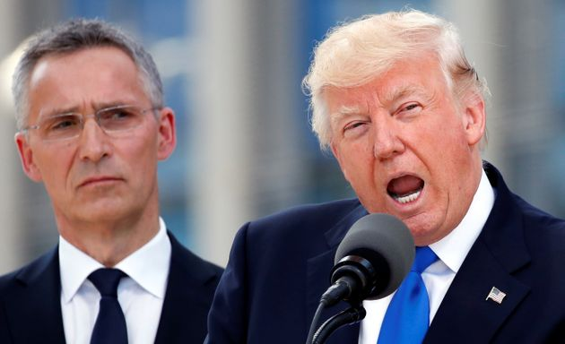 Trump Slams NATO Leaders for Not Spending Enough on Defense
