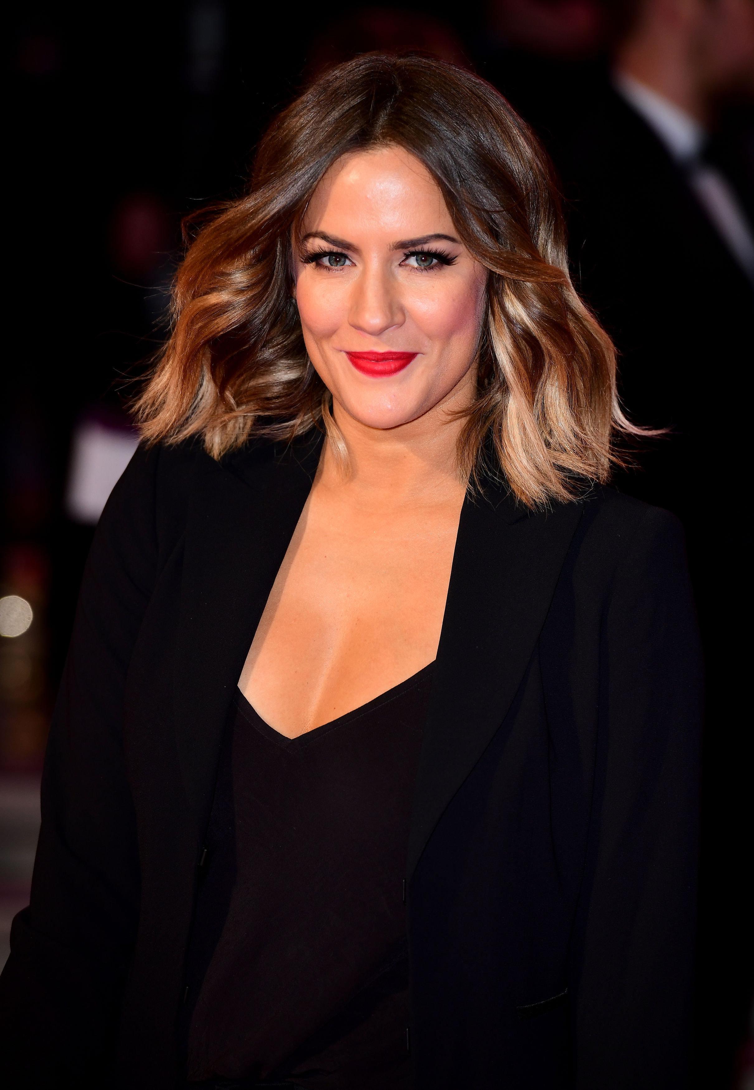 Caroline Flack Clears Up Those Pop Career