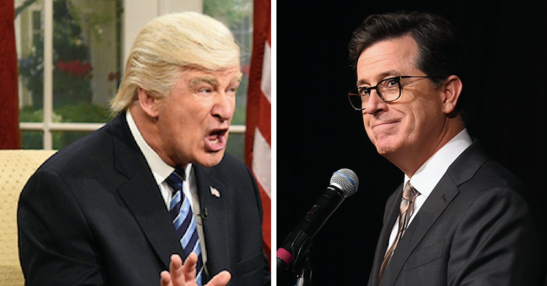 'SNL' And Stephen Colbert May Be Further Dividing Americans