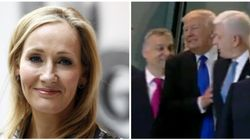 J.K. Rowling Calls Trump A 'Tiny, Little Man' After He Shoves A