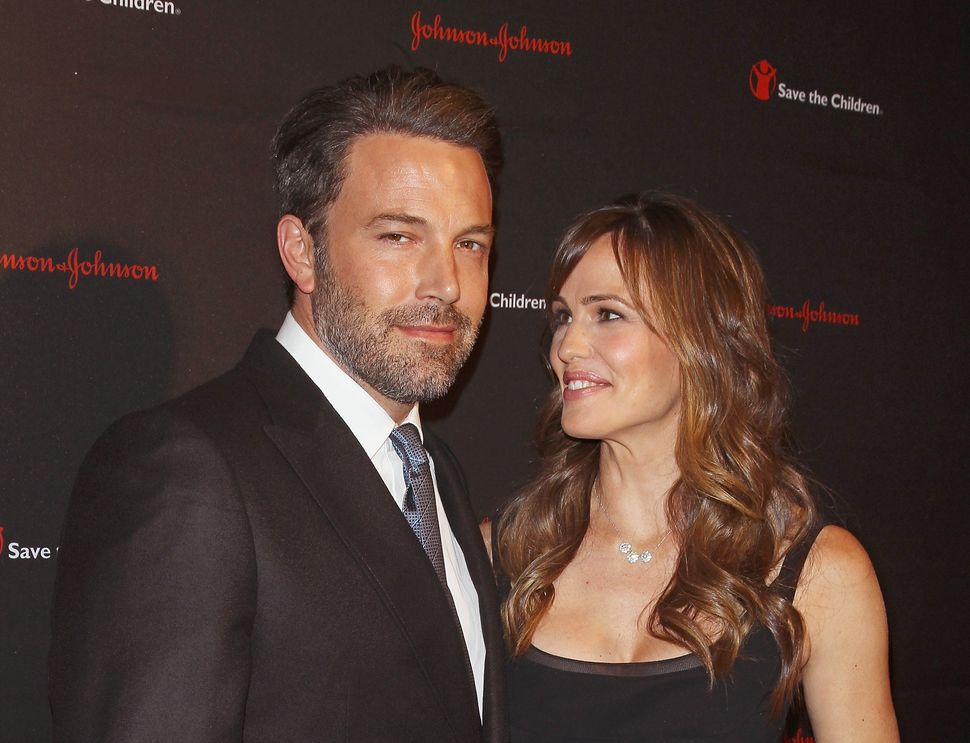 Ben Affleck and Jennifer Garner in one of their final red carpet appearances as a couple.