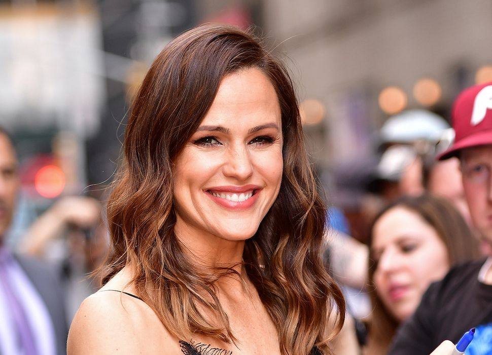 """Jennifer Garner signs autographs outside """"The Late Show with Stephen Colbert."""""""