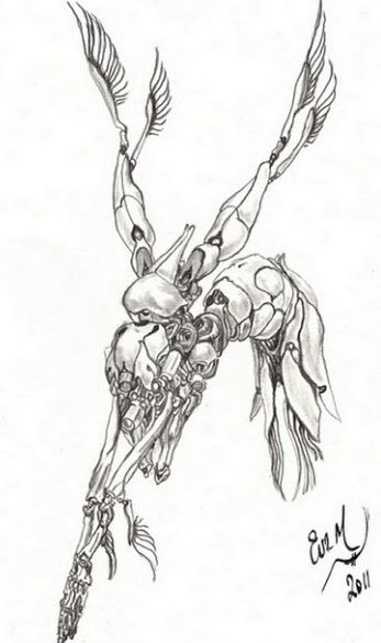 Artist rendition: Nanobot