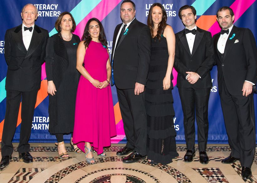 Members of the Literacy Partners Board