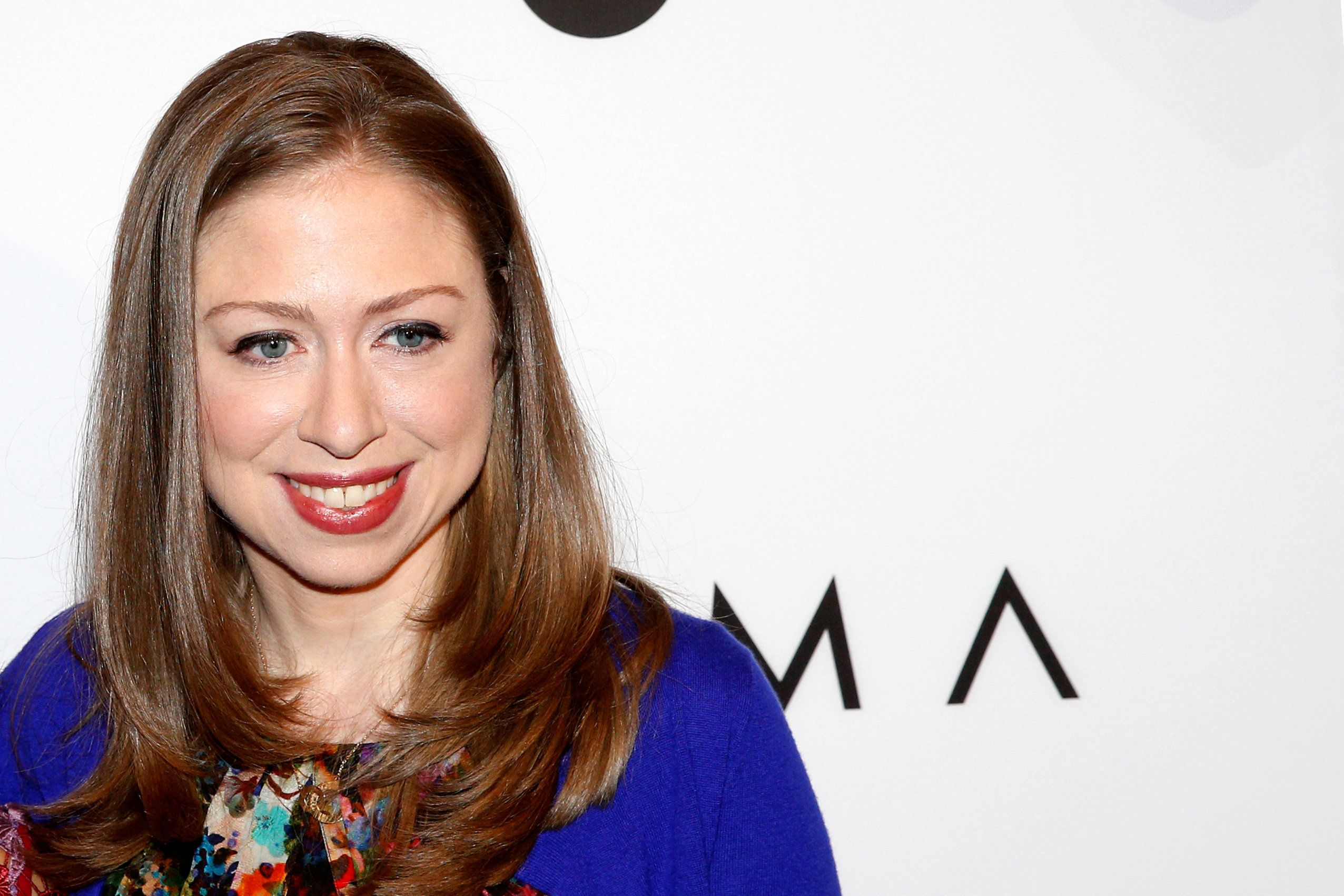 Chelsea Clinton arrives for Variety's Power of Women luncheon in New York City, U.S., April 21, 2017. REUTERS/Brendan McDermid