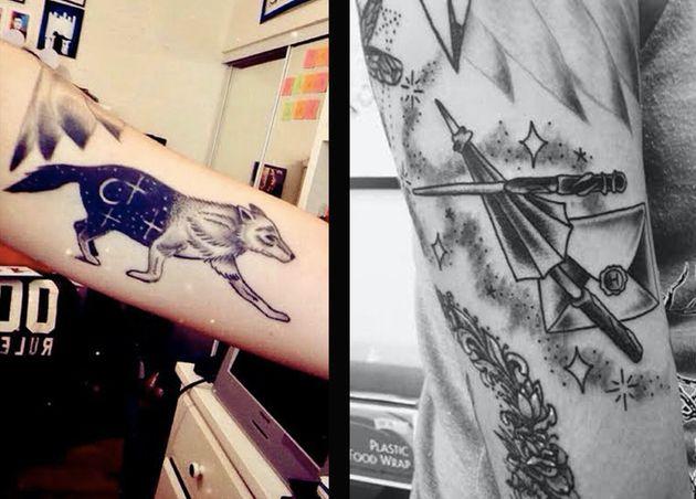 24 Tatuajes Inspirados En Harry Potter Que Te Volarán La Cabeza
