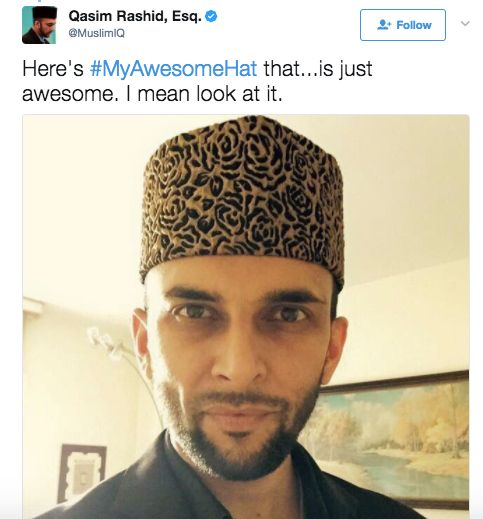 Muslim Writer Schools Troll Who Told Him To Take Off His 'Stupid