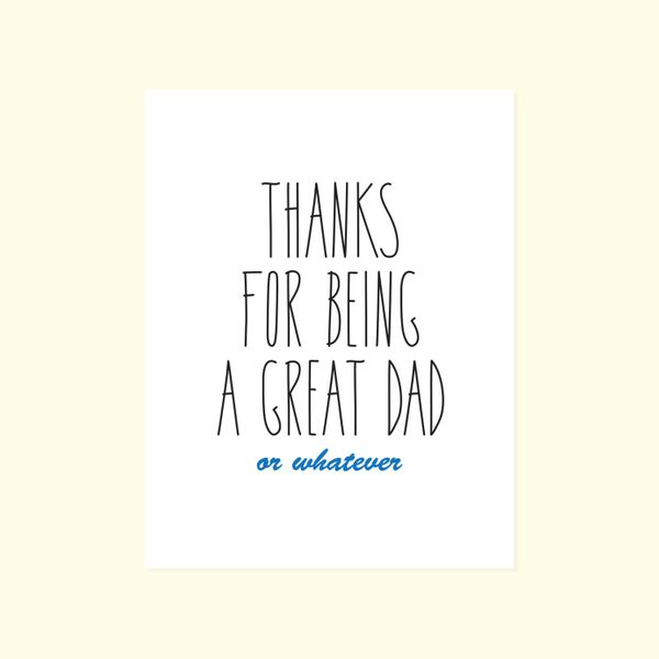"""$4.50, <a href=""""https://www.etsy.com/listing/234771011/snarky-fathers-day-humor-thanks-for?ref=shop_home_active_6"""" target=""""_b"""