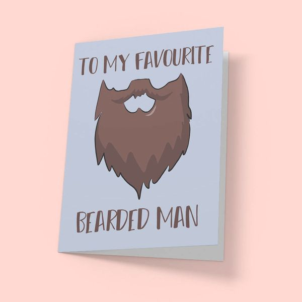 """$3.50, <a href=""""https://www.etsy.com/listing/489191220/funny-greeting-card-for-bearded-men"""" target=""""_blank"""">PAPRboutique</a>"""