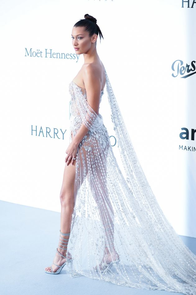 Cannes 2017: Bella Hadid Just Won The Nearly-Naked