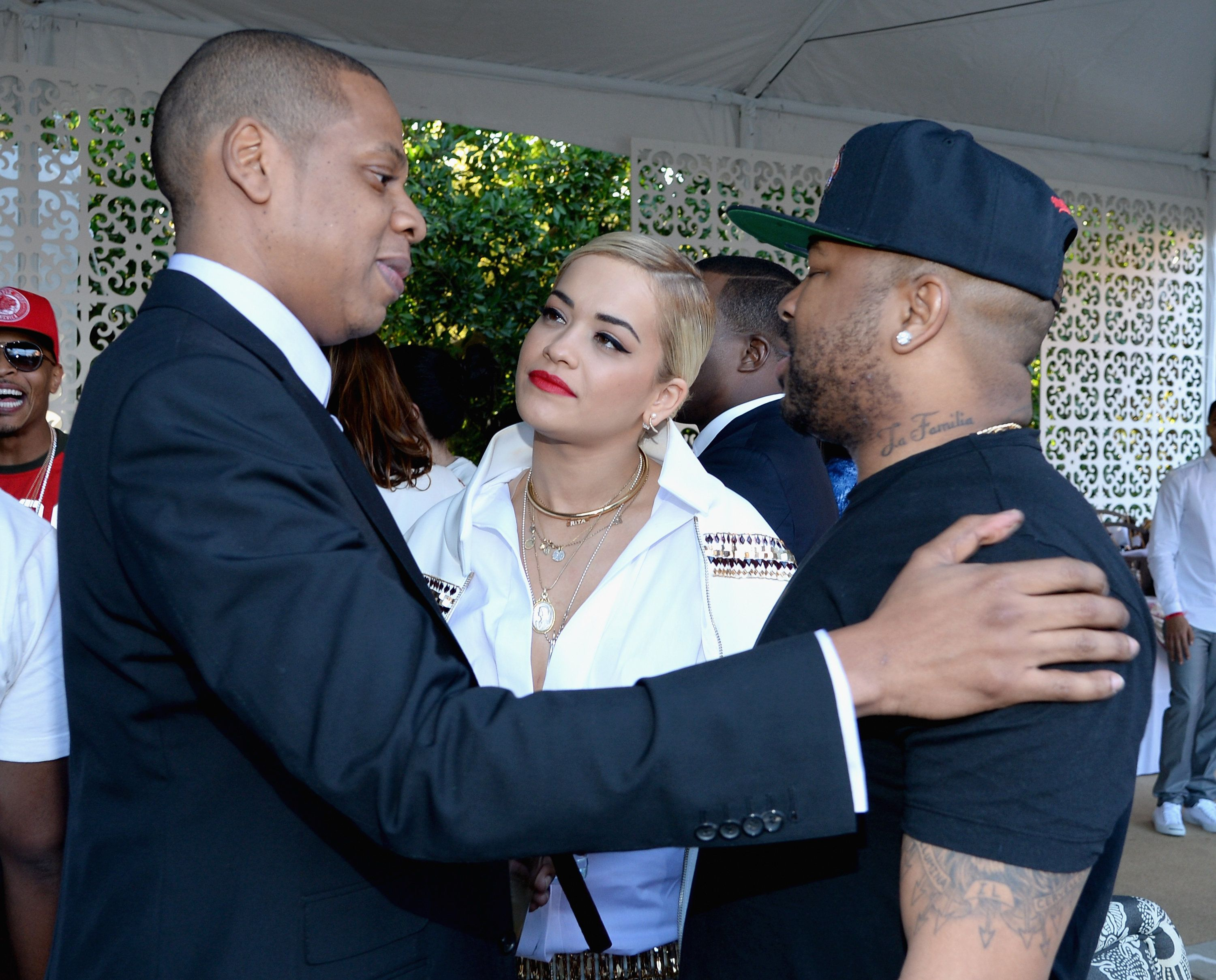 Rita Ora Attempts To Downplay Reports Of 'Bad Blood' With Former Label Boss Jay
