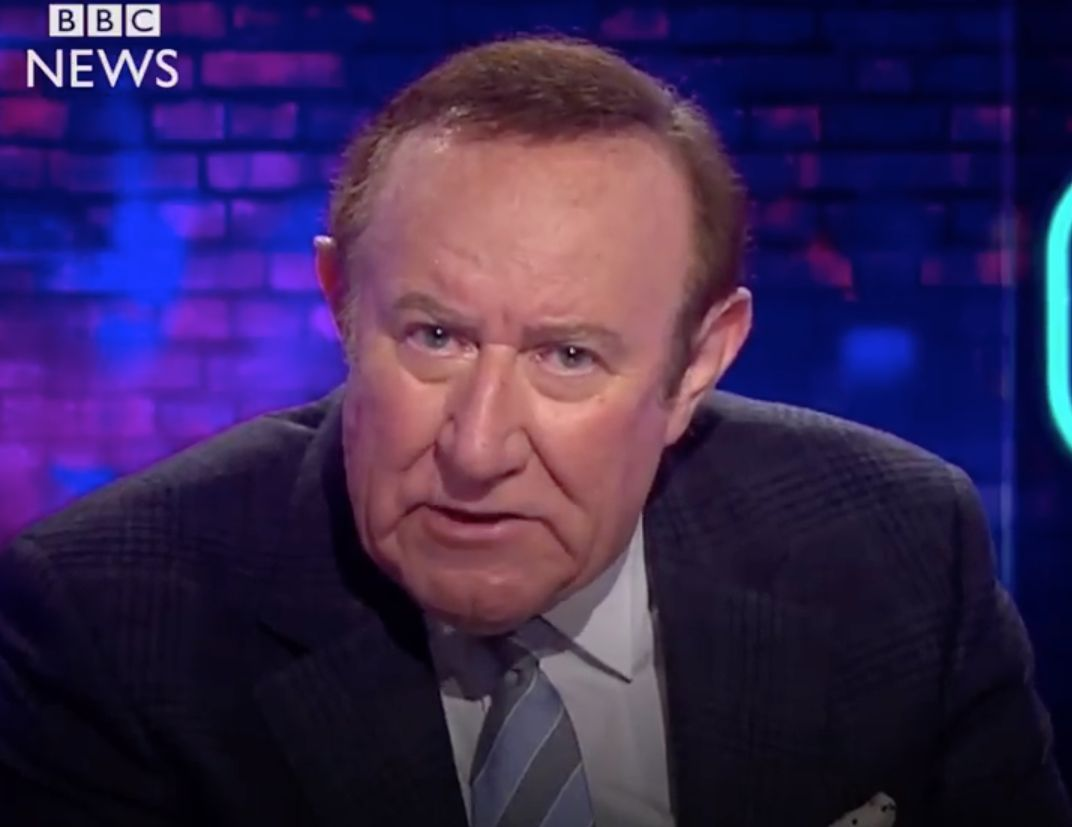 Andrew Neil Praised For 'Spot On' Message For Politicians Following Manchester