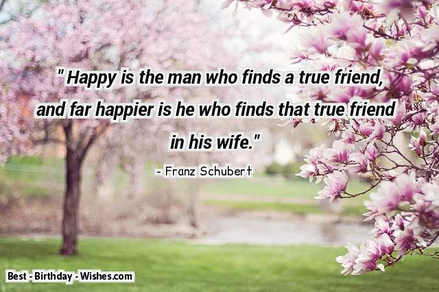 Happy Birthday Wishes For Wife ~ Happy birthday wishes quotes messages with funny romantic