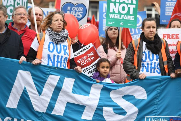 The NHS could be at risk of further