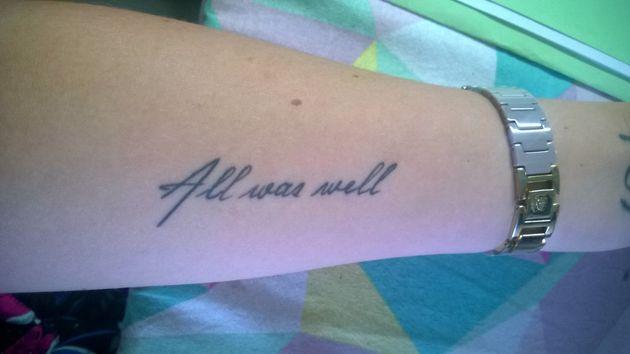 24 Tatuajes Inspirados En Harry Potter No Aptos Para Muggles