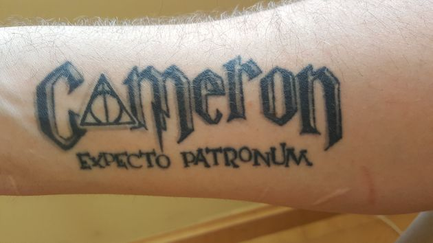 24 tatuajes inspirados en 'Harry Potter' no aptos para
