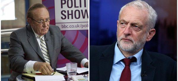 LIVE: Andrew Neil Interviews Jeremy Corbyn