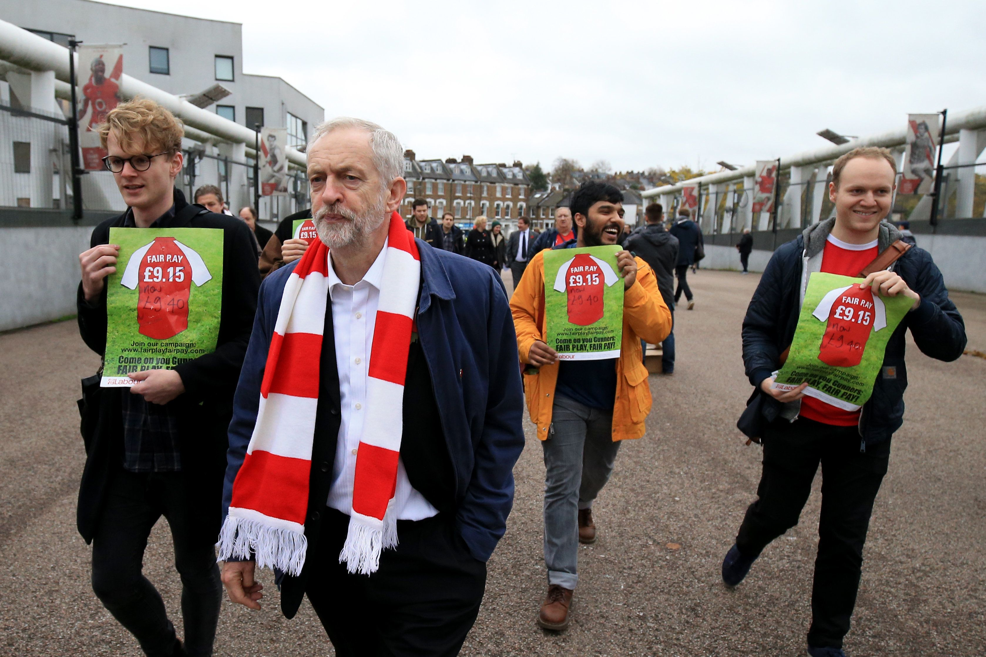 Labour Uses FA Cup Final Day To Pledge Crackdown On Ticket