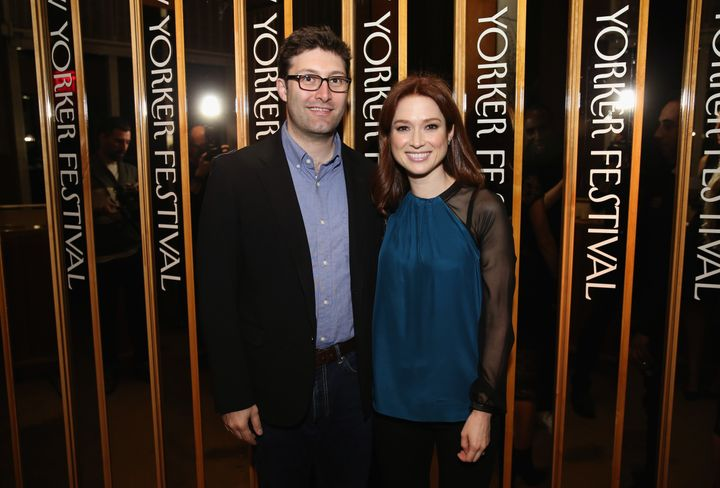 Ellie Kemper and Michael Koman have a 10-month-old son named James.