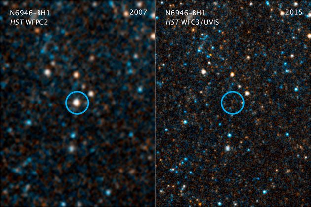 NASA Scientists Watch A Star Turn Into A Black Hole Before Their Very