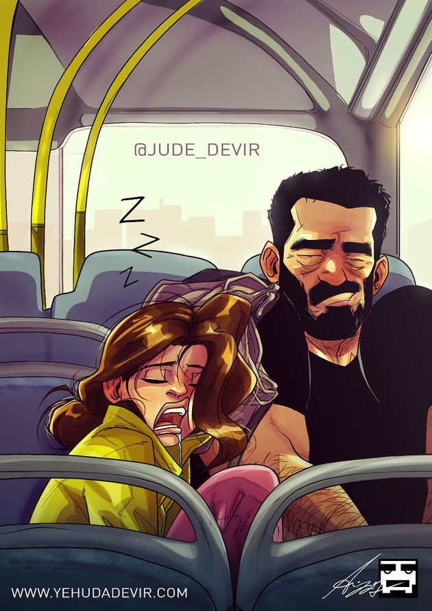 Artist Turns Life With His Wife Into Adorably Relatable