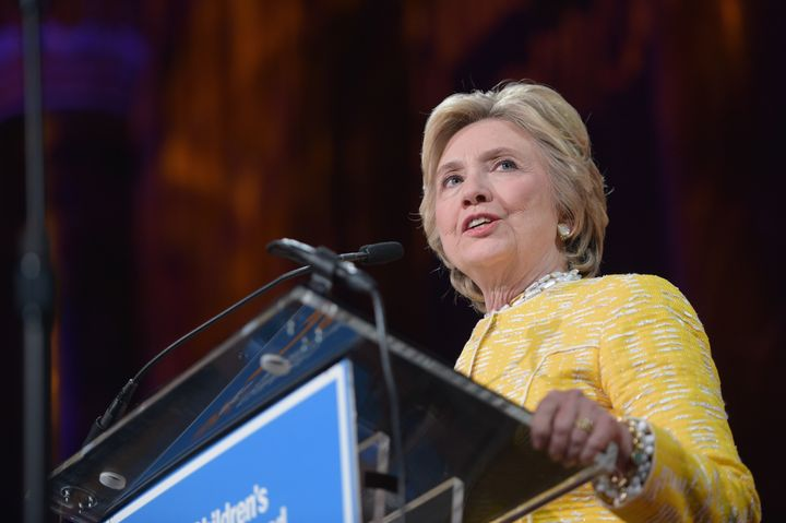 Hillary Clinton questioned the priorities of news organizations that are hiring conservatives after the election.