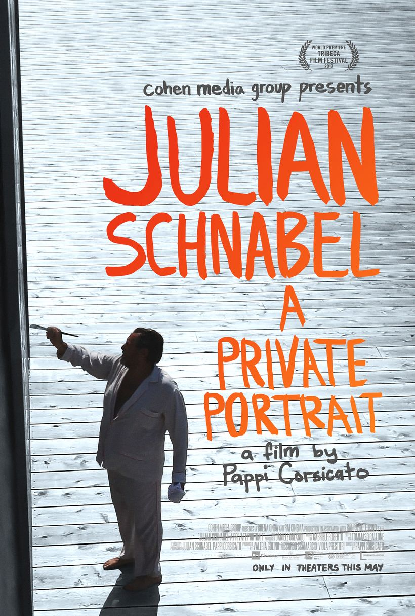 "Julian Schnabel: A Private Portrait a film by Pappi Corsicato, <a rel=""nofollow"" href=""https://www.cohenmedia.net/"" target=""_"