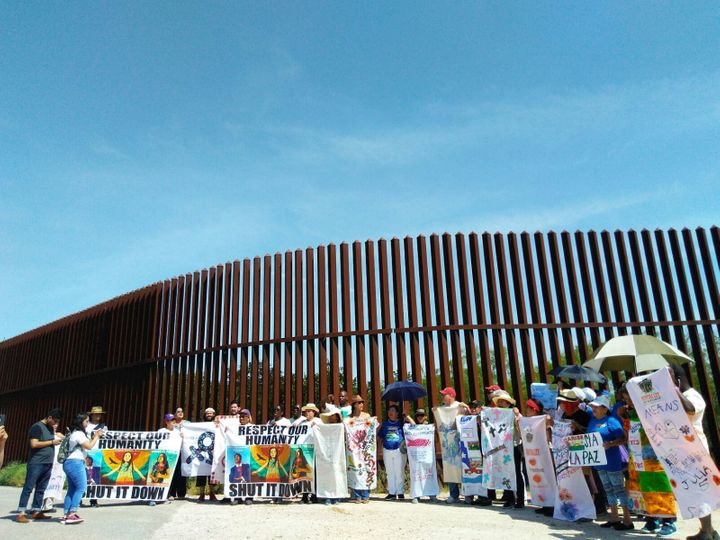 Caravan Against Fear at US-Mexico Border, Aprli 2017