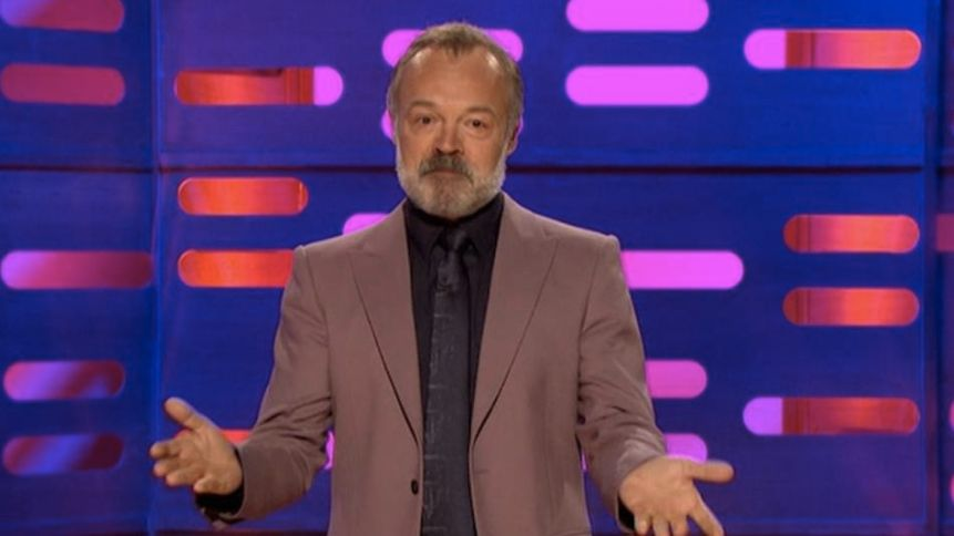 Graham Norton summed up the mood of the nation with his message for