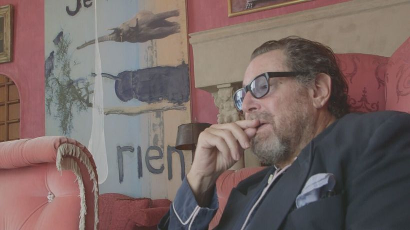 Julian Schnabel in <em>Julian Schnabel, A Private Portrait</em>, Directed by Pappi Corsicato, Photo Courtesy of Cohen Media G