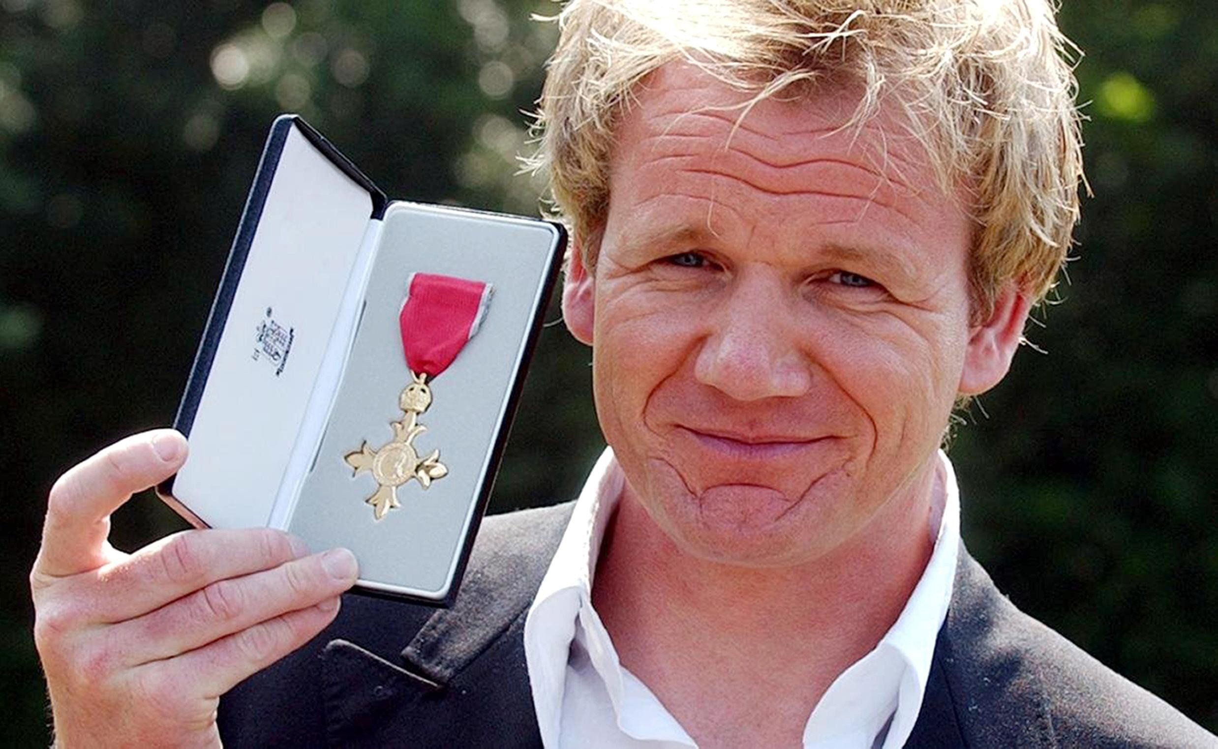 Gordon Ramsay Claims HM The Queen Gave Him 'Polite F*** Off' When He Collected