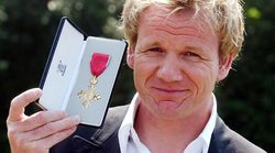 Gordon Ramsay Claims HM The Queen Gave Him 'Polite F*** Off' When He Received OBE From Her A Decade